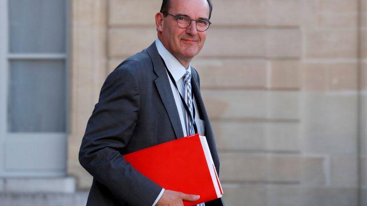 Le Premier Ministre Jean Castex (GONZALO FUENTES / POOL)