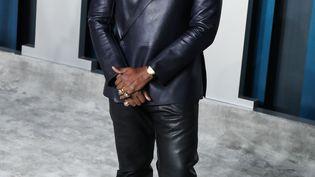 Le rappeur américain Kanye West le 9 février 2020, lors de la Vanity Fair Oscar Party (IMAGE PRESS AGENCY / NURPHOTO)