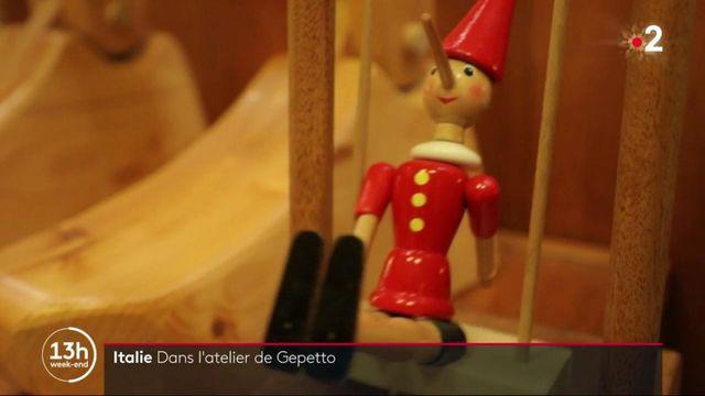"""Italie : à la rencontre du """"vrai Gepetto"""""""