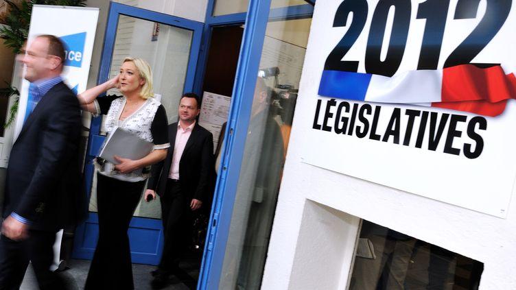 Législatives 2012 (PHILIPPE HUGUEN / AFP)
