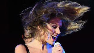 Taylor Swift à Times Square en décembre 2014  (Jewel Samad/AFP)