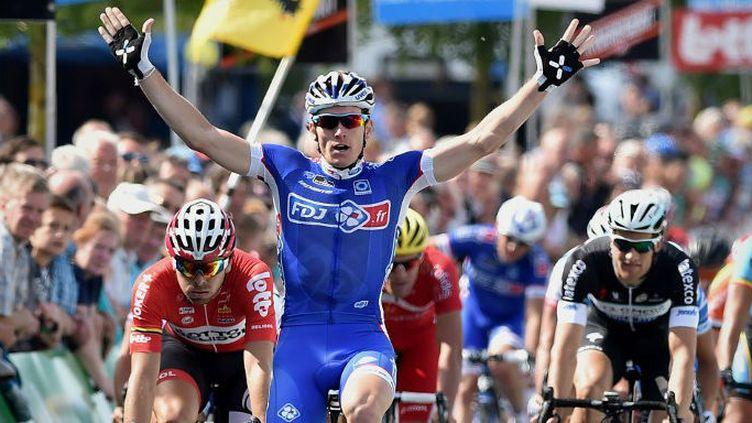 Arnaud Démare (FDJ.fr) arrive ambitieux sur le Tour de Francee 2014