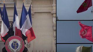 La tension monte entre la France et ses partenaires du Maghreb. Paris veut marquer le coup en réduisant le nombre de visas en raison du refus de l'Algérie, du Maroc et de la Tunisie de favoriser le retour des immigrés en situation irrégulière. (CAPTURE ECRAN / FRANCEINFO)