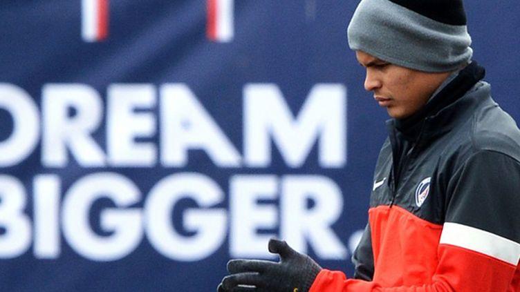 Thiago Silva forfait pour la réception du FC Barcelone (FRANCK FIFE / AFP)