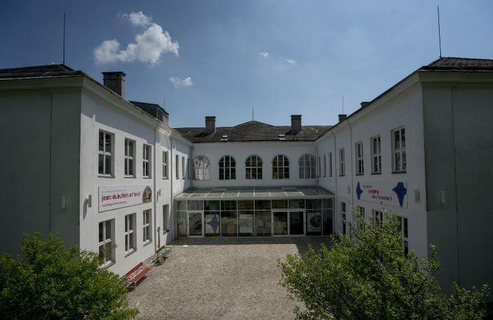 Le centre d'art brut se trouve à Gugging en Autriche  (JOE KLAMAR / AFP)