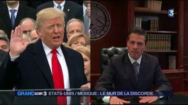 Etats-Unis / Mexique : le mur de la discorde