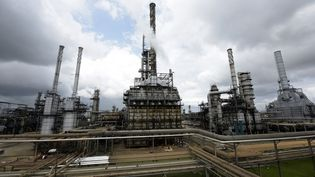 La raffinerie de Port Harcourt dans l'Etat de Rivers, au Nigeria. (PIUS UTOMI EKPEI / AFP)