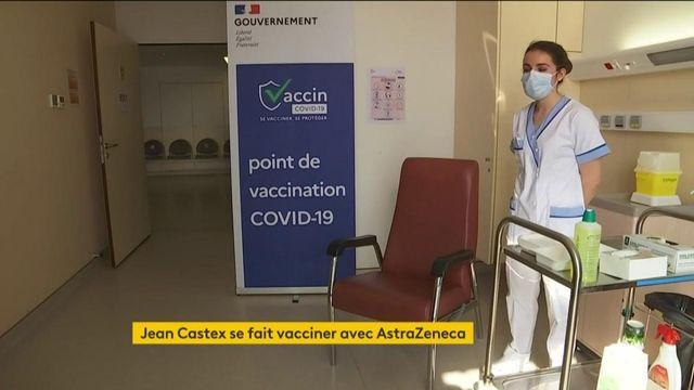 Jean Castex se fait vacciner contre le Covid-19