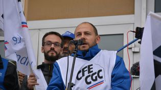 Philippe Petitcolin du syndicat CFE-CGC. (ADELINE DIVOUX / RADIOFRANCE)