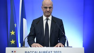 Le ministre de l'Éducation nationale Jean-Michel Blanquer. (STEPHANE DE SAKUTIN / AFP)