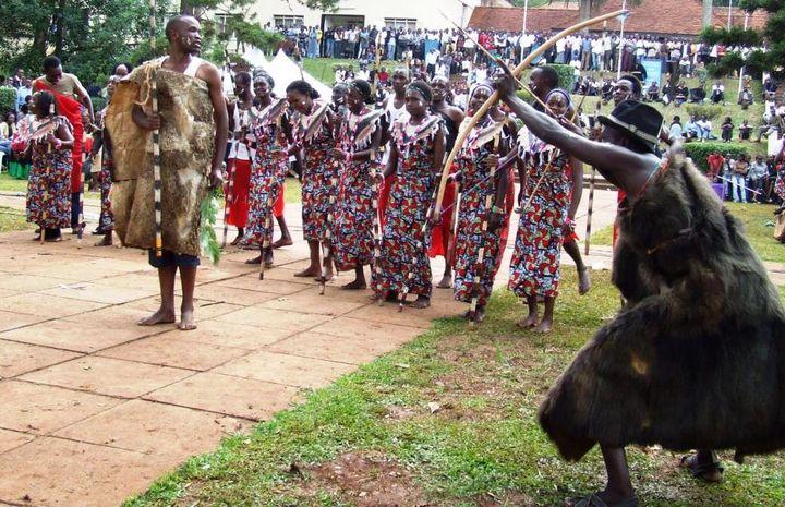 Ensemble Kalenjin, la tribu kenyane de Félix Kiprono (Capture écran du site Makerere University)