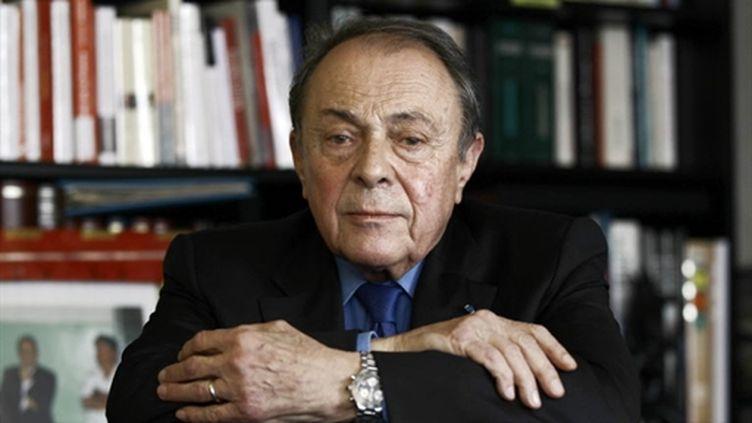 Michel Rocard, décembre 2010. (AFP - Joel Saget)
