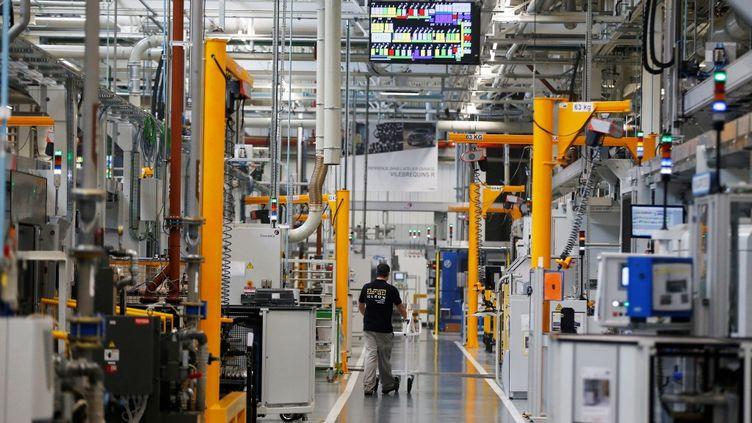 L'usine de Renault à Cléon, en Seine-Maritime, le 6 juin 2017. (CHARLY TRIBALLEAU / AFP)