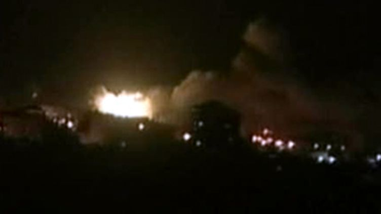 Bombardements à Gaza durant l'offensive israélienne. (© France)