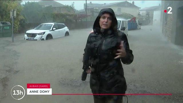 Alerte météo : des orages et des inondations frappent le Gard, placé en vigilance rouge