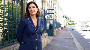 L'ancienne élue de Saint-Germain-en-Laye, Agnès Cerighelli, le 17 juin 2019. (MAXPPP)