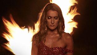"""Céline Dion sur la pochette de son album """"Courage"""" à paraître le 15 novembre 2019. (COLUMBIA / SONY MUSIC)"""