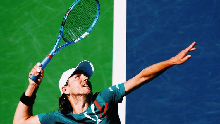 Lucas Pouille, premier joueur de tennis à évoquer explicitement un arrêt de la saison (LE COQ SPORTIF)