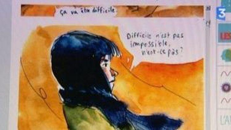 Festival d'Angoulême, les jeunes dessinateurs se font connaitre par internet  (Culturebox)