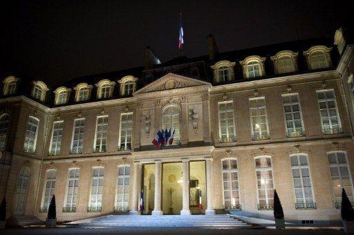 La façade de l'Elysée (LIONEL BONAVENTURE / AFP)