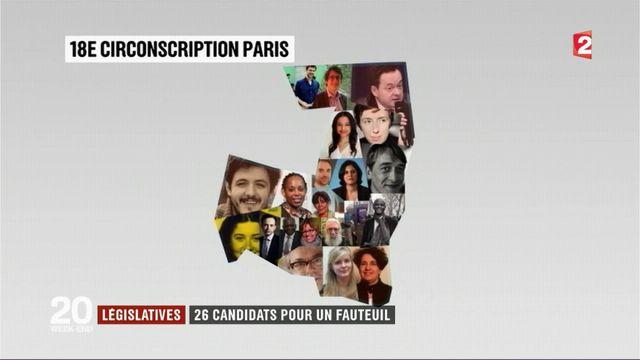 Législatives : 26 candidats pour un seul fauteuil à l'Assemblée