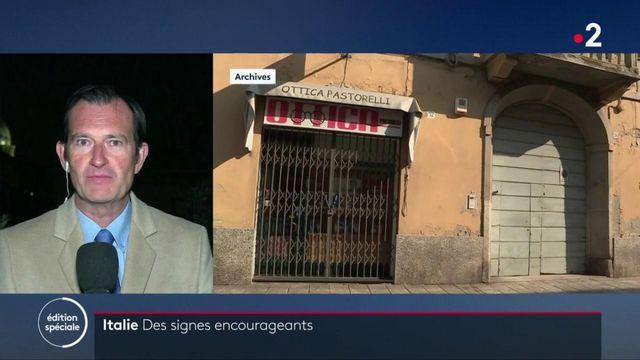 Epidémie en Italie : des signes encourageants