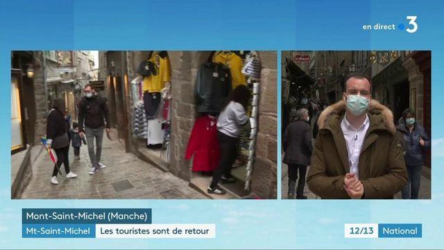 Réouvertures : les visiteurs sont de retour au Mont-Saint-Michel
