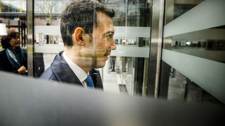 Ben Smith, directeur général du groupe Air France-KLM, lors d'une réunion économique à La Haye (Pays-Bas), le 17 janvier 2019. (BART MAAT / ANP)