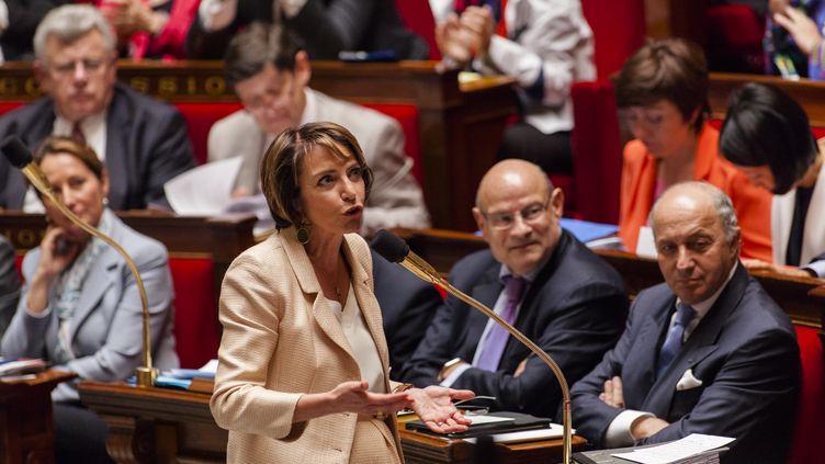 Marisol Touraine à l'Assemblée nationale le 16 juin 2015. (CITIZENSIDE / AURELIEN MORISSARD / AFP)