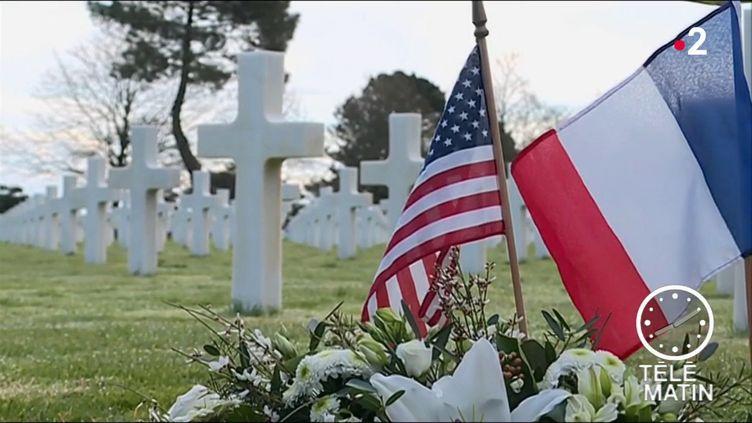 Des tombes de soldats américains. (France 2)