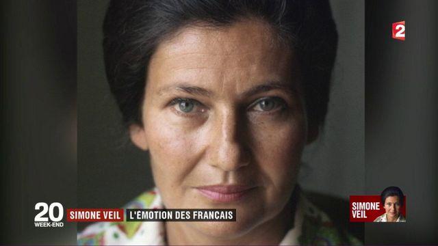 Simone Veil : l'émotion des Français