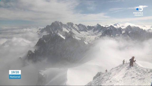 Haute-Savoie : les skieurs réinvestissent le Mont Blanc