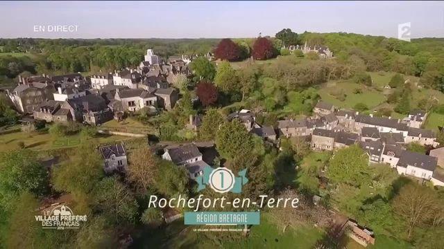"""Rochefort-en-Terre élu """"village préféré des Français"""" en 2016"""