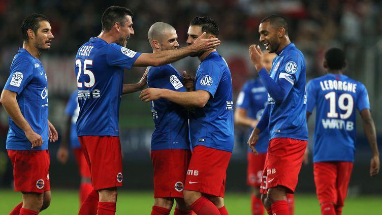 Nouvelle victoire pour Caen. (CHARLY TRIBALLEAU / AFP)