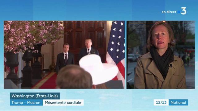 Trump-Macron : une mésentente cordiale pendant la visite d'État
