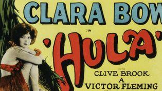"""L'affiche de """"Hula"""" (1927) de Victor Fleming avec Clara Bow  (Kobal / The Picture Desk)"""
