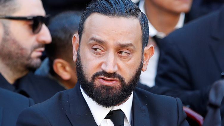 L'animateur de télévision Cyril Hanouna, lors d'un hommage national à Charles Aznavour, le 5 octobre 2018 à l'Hôtel des Invalides, à Paris. (CHRISTOPHE ENA / POOL / AFP)