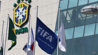 La Fédération brésilienne de football, le 28 mai 2015 à Rio de Janeiro (Brésil). (FABIO MOTTA / ESTADAO CONTEUDO / AFP)