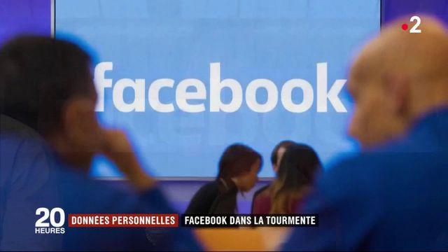 Données personnelles : Facebook dans la tourmente