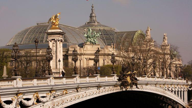 Le Grand Palais, legs de l'exposition universelle de 1900 à Paris. (MANUEL COHEN / AFP)