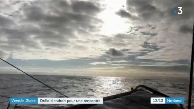 Vendée Globe : cinq concurrents au coude à coude