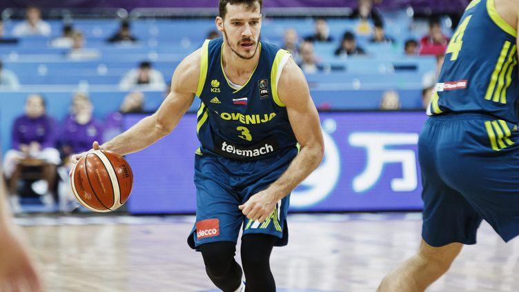 Goran Dragic (Slovénie) lors de l'EuroBasket (RONI REKOMAA / LEHTIKUVA)