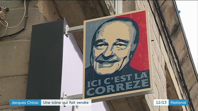 Jacques Chirac : une icône qui fait vendre