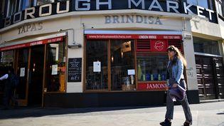 Le Borough Market à Londres. (BEN STANSALL / AFP)