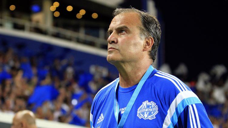 Marcelo Bielsa n'a pas été tendre avec Vincent Labrune (PASCAL POCHARD CASABIANCA / AFP)