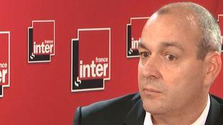 Laurent Berger était l'invité de France Inter lundi 24 juin 2019. (FRANCE INTER)