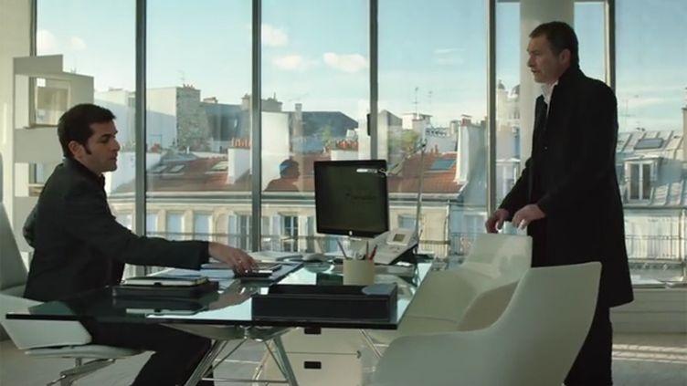 (Au coeur de la série : une agence de communication baptisée Pygmalion © Capture écran FranceTV)