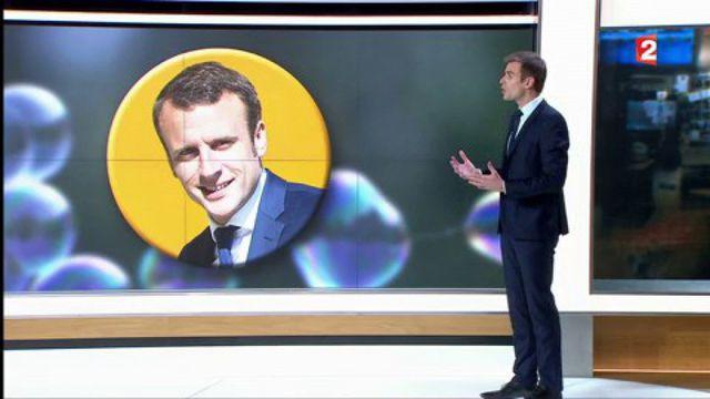 """Emmanuel Macron : """"Il a fait un bon dans le coeur des Français"""""""