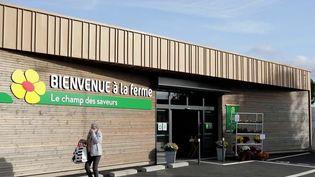 """Pour satisfaire les demandes des consommateurs et mieux rémunérer les paysans, le réseau """"Bienvenue à la ferme"""" propose des magasins en circuit court. (CAPTURE ECRAN FRANCE 2)"""