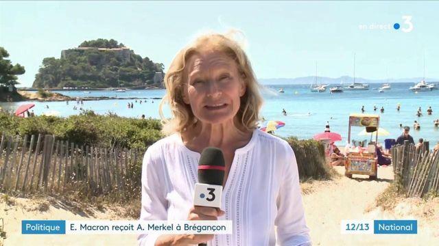 Fort de Brégançon :  pour sa rentrée, Emmanuel Macron reçoit Angela Merkel